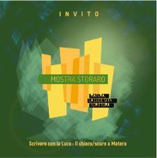 STORARO SCRIVERE CON LA LUCE: IL CHIARO/SCURO A MATERA -  dal 17 settembre 2016 al 8 gennaio 2017 - Matera