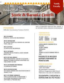 Storie di Baroni e Castelli - Matera