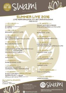Swami Summer live 2016 - Matera