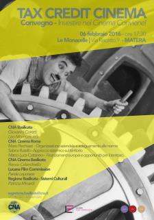 Taxi Credit Cinema - Investire nel Cinema Conviene - 6 Febbraio 2016 - Matera