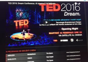TED 2016: Dream  - Matera