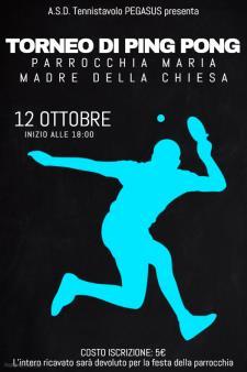 Torneo di Ping Pong - 12 ottobre 2016 - Matera