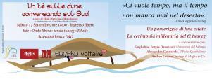 Un te sulle dune. conversando sul Sud - 17 settembre 2016 - Matera