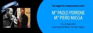 Un viaggio fra i temperamenti storici - Matera