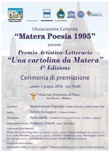 Una cartolina da Matera anno 2016 - Matera