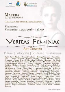 Veritas Feminae / Art contest - Matera