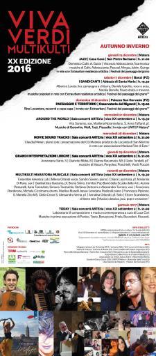Vivaverdi Multikulti 2016 - Matera