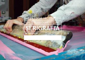 WORKSHOP DI SERIGRAFIA - Matera