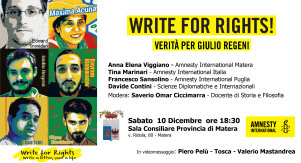 Write for Rights - Matera
