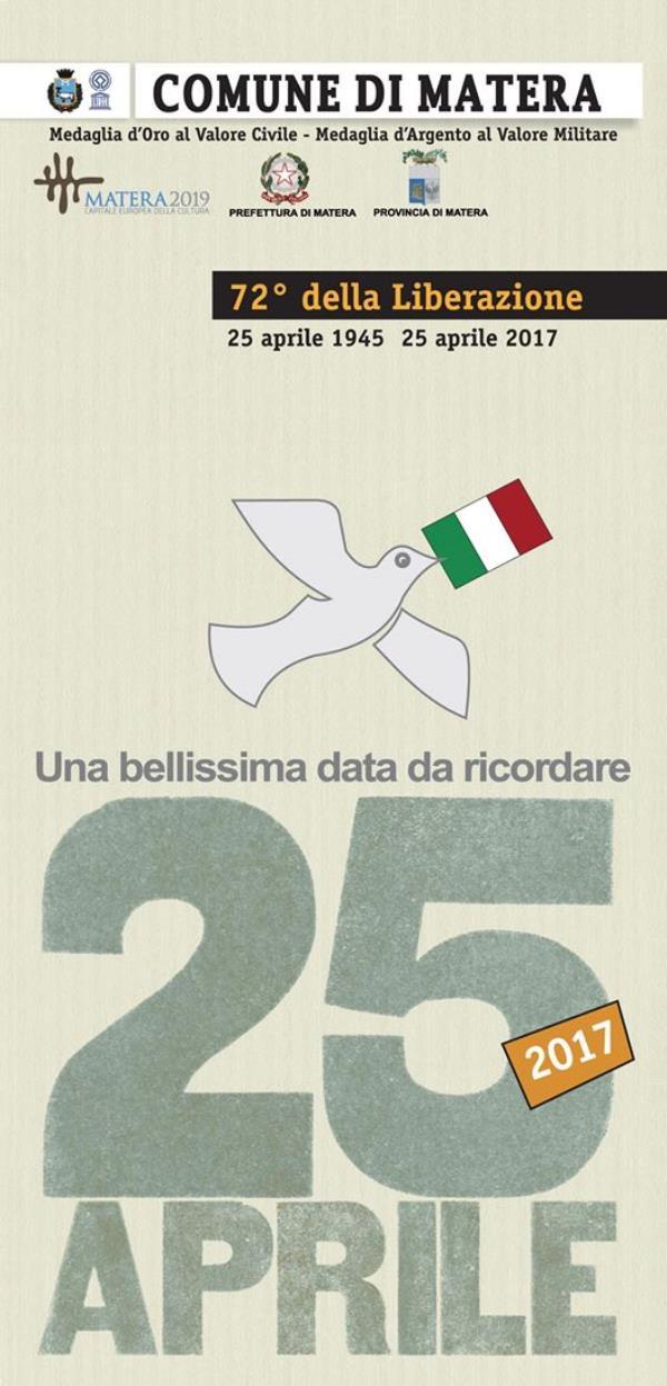 25 aprile. 72° della Liberazione