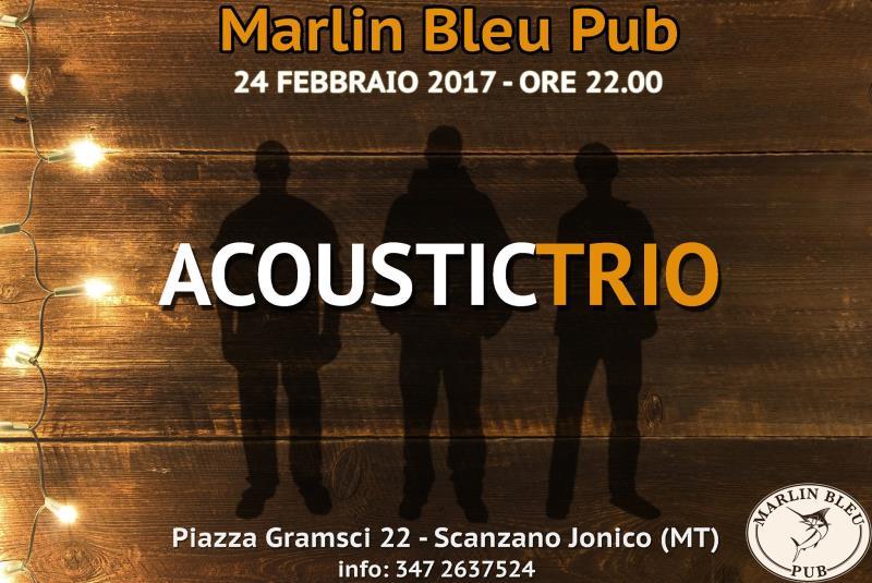 Acoustic Trio - 24 Febbraio 2017