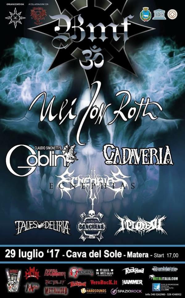 Basilicata Metal Fest - 29 Luglio 2017