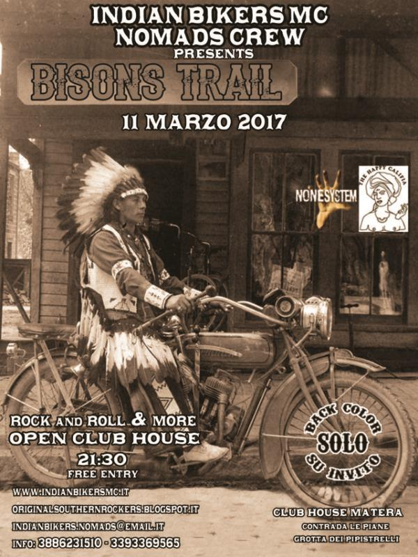 Bisons Trail  - 11 Marzo 2017