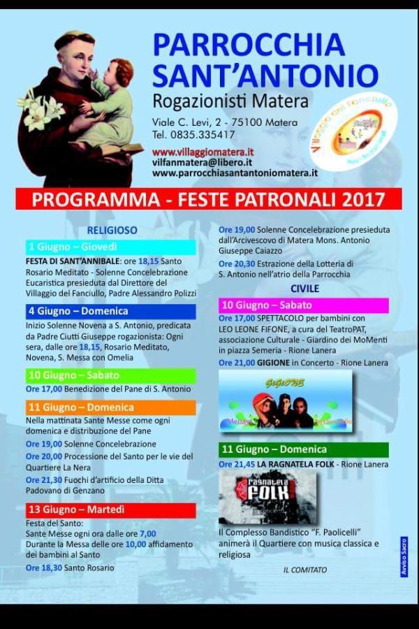 Festa di Sant´Antonio di Padova 2017