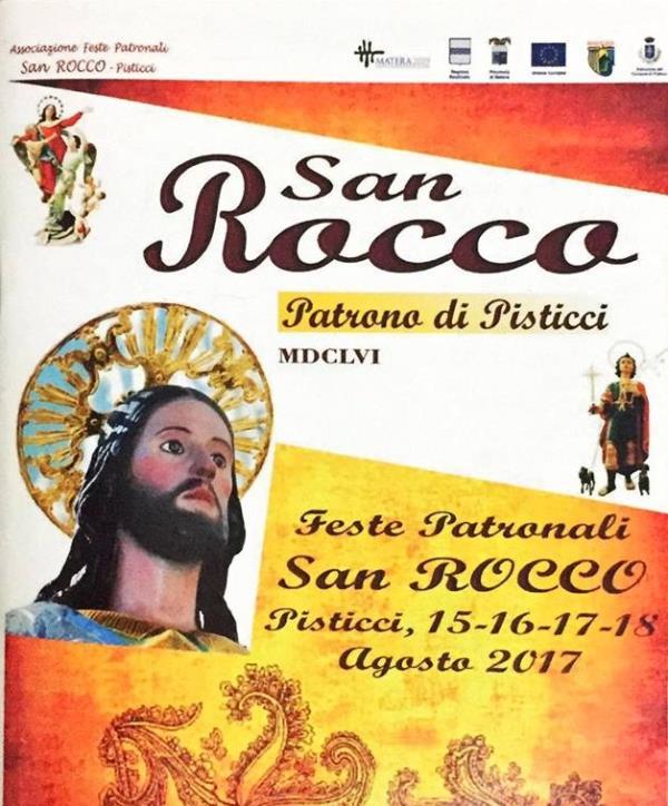 Festeggiamenti in onore di San Rocco  2017