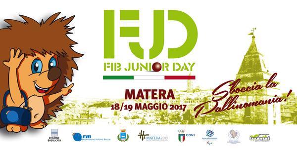 Fib Junior Day Matera 2017  (foto diwww.fibferrara.it)