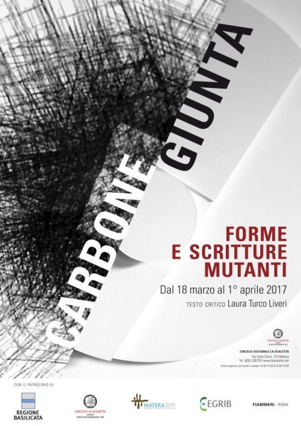 Forme e scritture mutanti