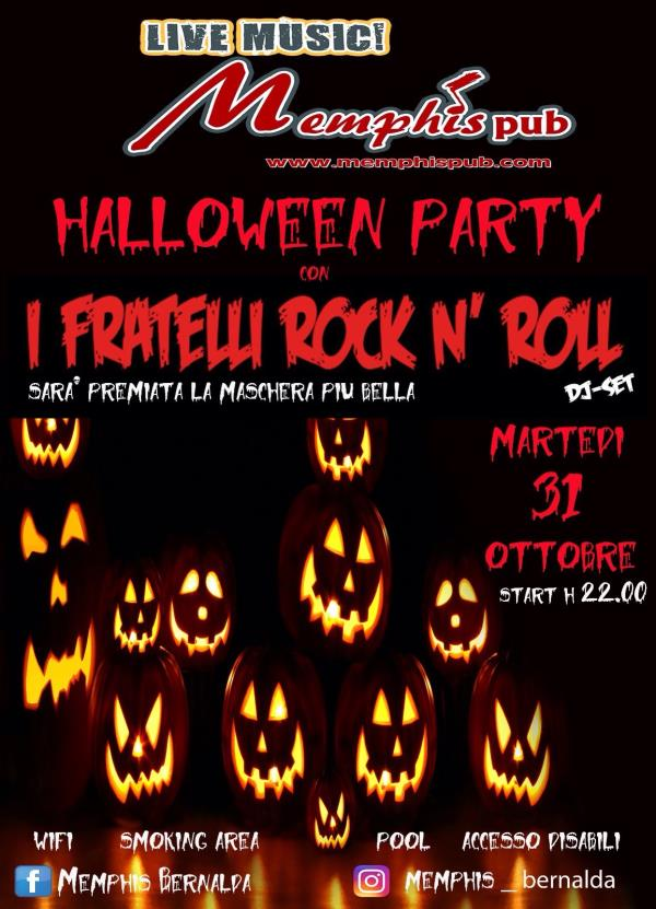 Halloween Party con i Fratelli Rock n´ Roll
