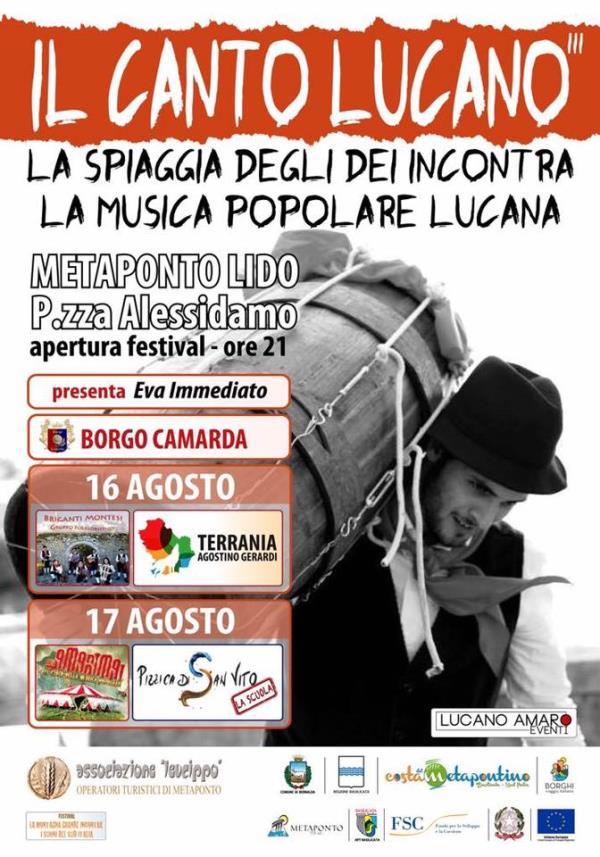 Il Canto Lucano  2017