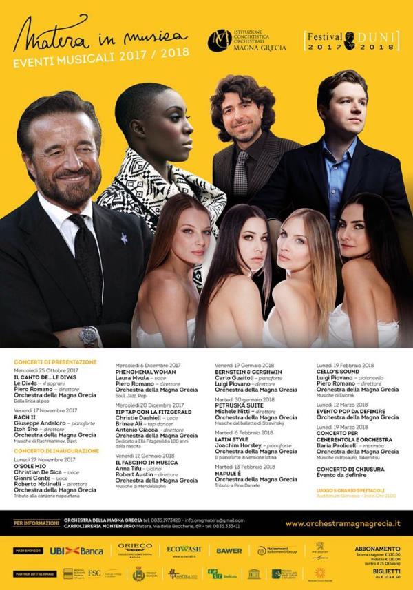 Matera in musica 2017/2018