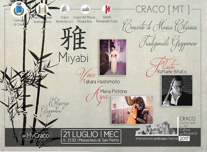 Miyabi - Concerto di Musica Classica tradizionale giapponese  - 21 Luglio 2017