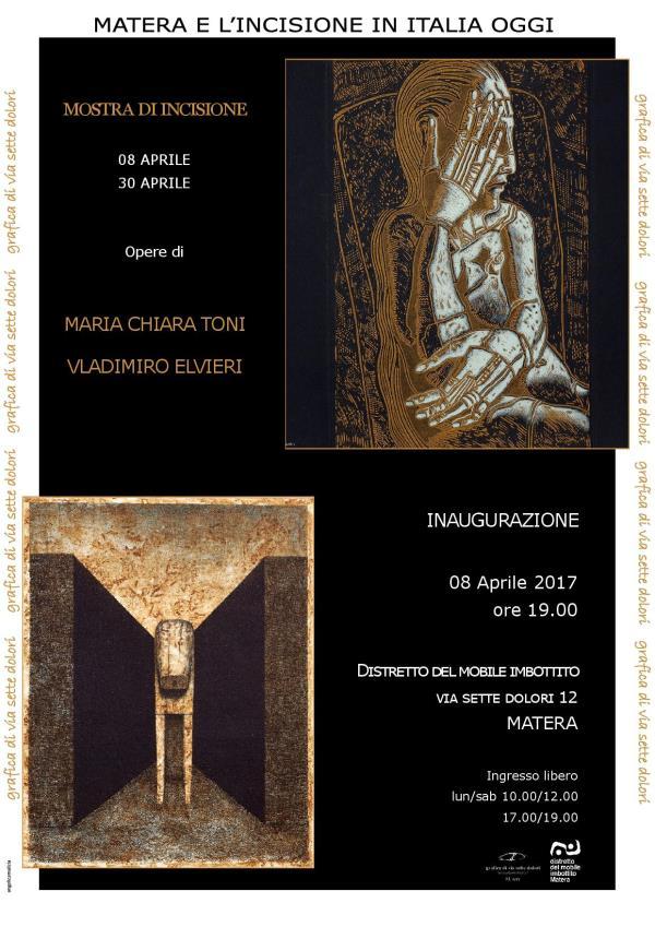 Mostra di Vladimiro Elvieri e Maria Grazia Toni