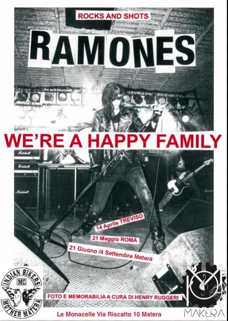 "Mostra fotografica sui ""Ramones"" di Henry Ruggeri"