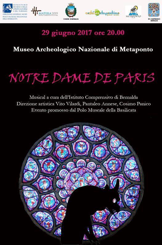 Notre Dame de Paris - 29 Giugno 2017