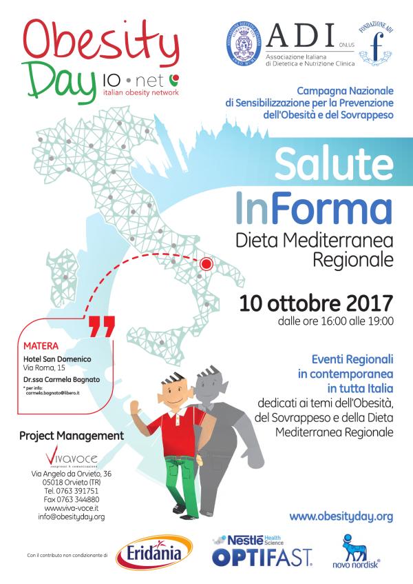 OBESITY DAY - 10 ottobre 2017