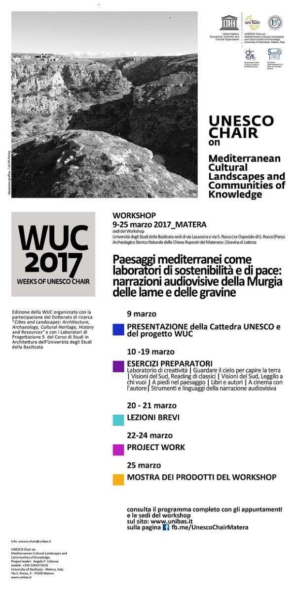 Paesaggi mediterranei come laboratori di sostenibilità e di pace: narrazioni audiovisive della Murgia delle lame e delle gravine