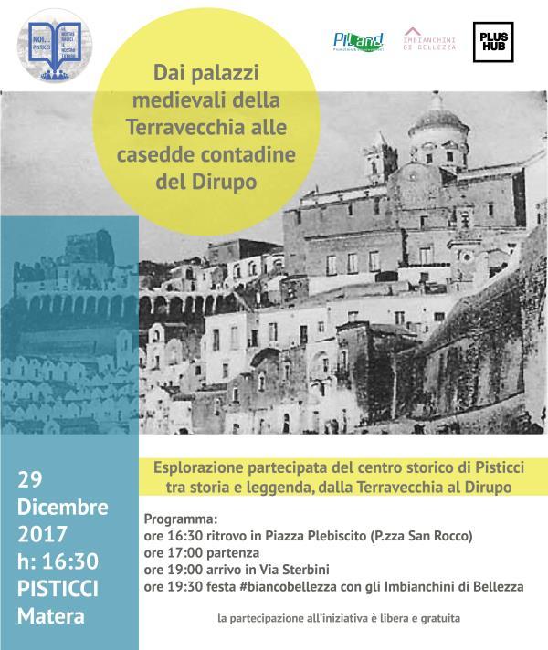 Passeggiata attraverso il centro storico di Pisticci - 29 dicembre 2017