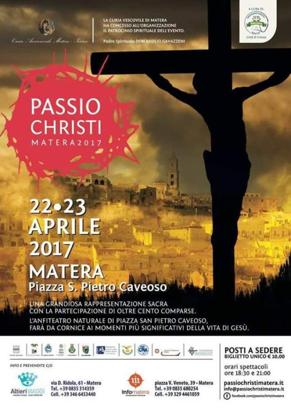 Passio Christi Matera 2017