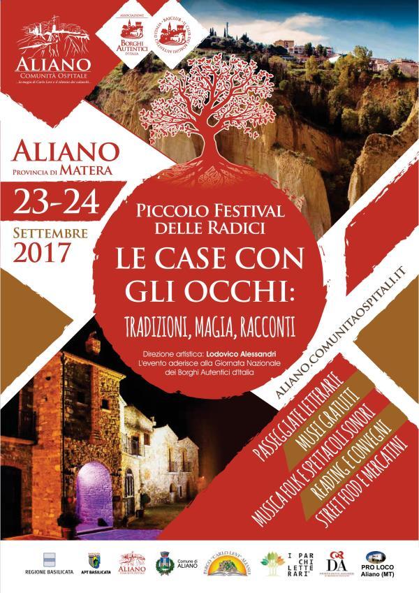 Piccolo Festival delle Radici nel Parco Letterario Carlo Levi - 23 e 24 settembre 2017