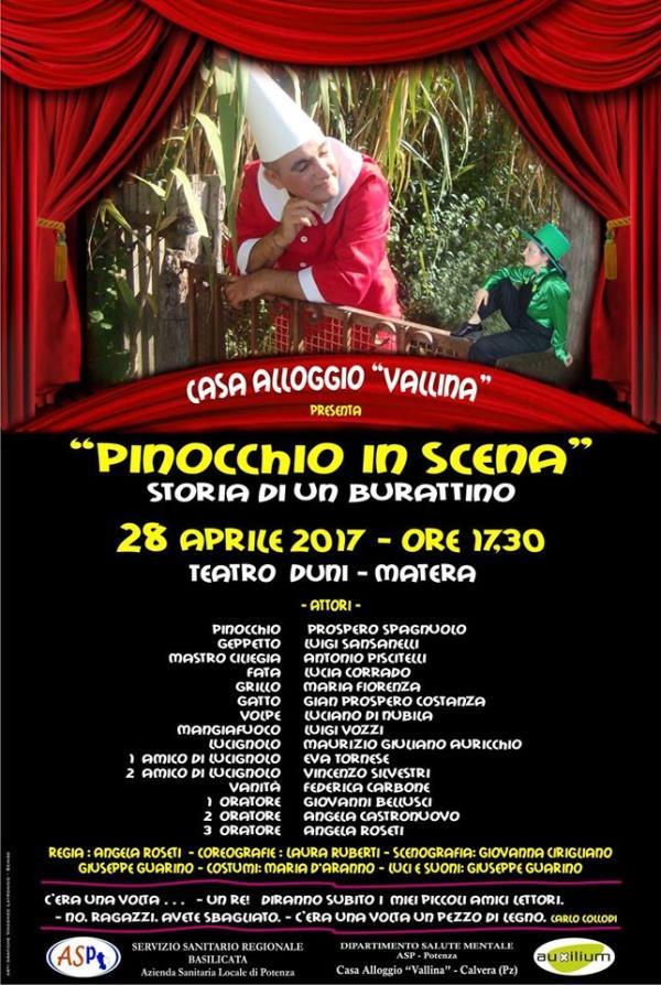 Pinocchio in Scena - 28 Aprile 2017