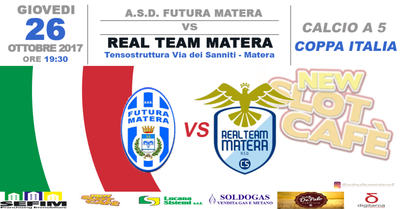 Real Team Matera vs Futura Matera - 26 ottobre 2017