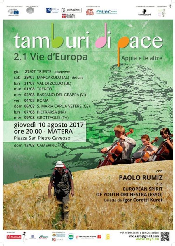 Tamburi di pace 2.1  - 10 Agosto 2017