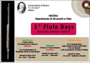 1° Flute Days  - Matera