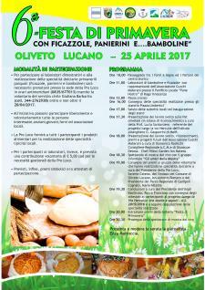6° Festa di Primavera con Ficazzole, Panierini e ….Bamboline  - Matera