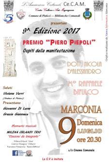 9^Edizione Premio Piero Piepoli  - 9 Luglio 2017 - Matera