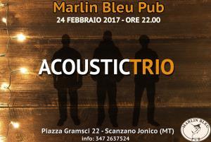 Acoustic Trio - 24 Febbraio 2017 - Matera