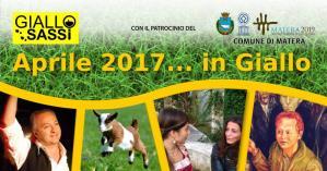 Aprile 2017... in Giallo  - Matera