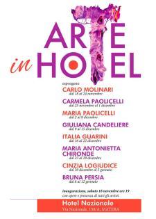 Arte in hotel  - Matera