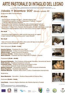 Arte pastorale di intaglio del legno - 9 dicembre 2017 - Matera