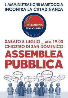 Assemblea Pubblica di Ferrandina Bene Comune  - Matera