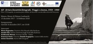 AZ - Arturo Zavattini fotografo. Viaggi e Cinema, 1950-1960  - Matera