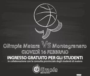 Bawer Olimpia Matera VS Montegranaro  - Matera