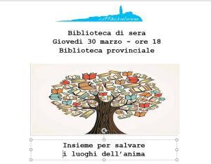 Biblioteca di sera - Matera