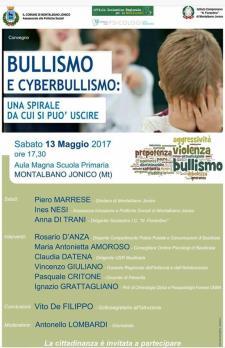 Bullismo e Cyberbullismo: una spirale da cui si può uscire - 13 maggio 2017 - Matera