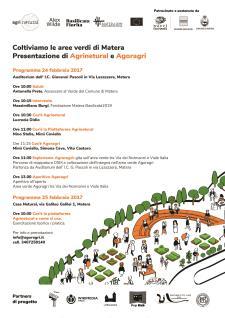 Calendario attività di Agrinetural e Agoragri  - Matera