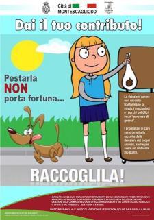 Campagna di sensibilizzazione per la raccolta delle deiezioni animali  - Matera